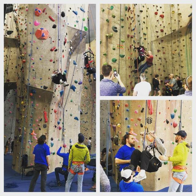 adaptclimbgroup is in full swing! We love seeing these climbershellip