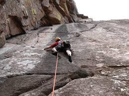outdoor sport rock climbing class at upper limits rock climbing gym st. louis