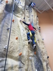 Indoor Rock Climbing Gym Birthday Party Youth Location St. Louis