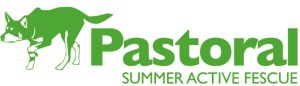 Pastoral Summer Active Fescue Logo with Dog