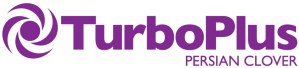 TurboPlus Persian Clover Logo with spinning wheel