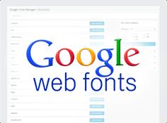 Tons of Google fonts