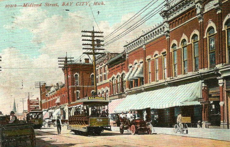 A picture postcard of the past in Bay City