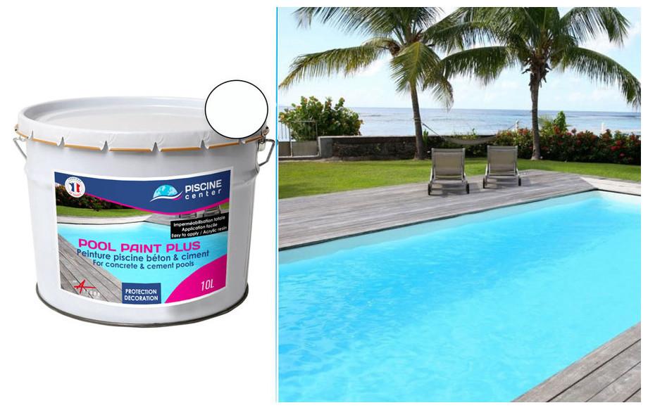 Peinture Pool Paint Plus Pour Piscine Beton Et Ciment
