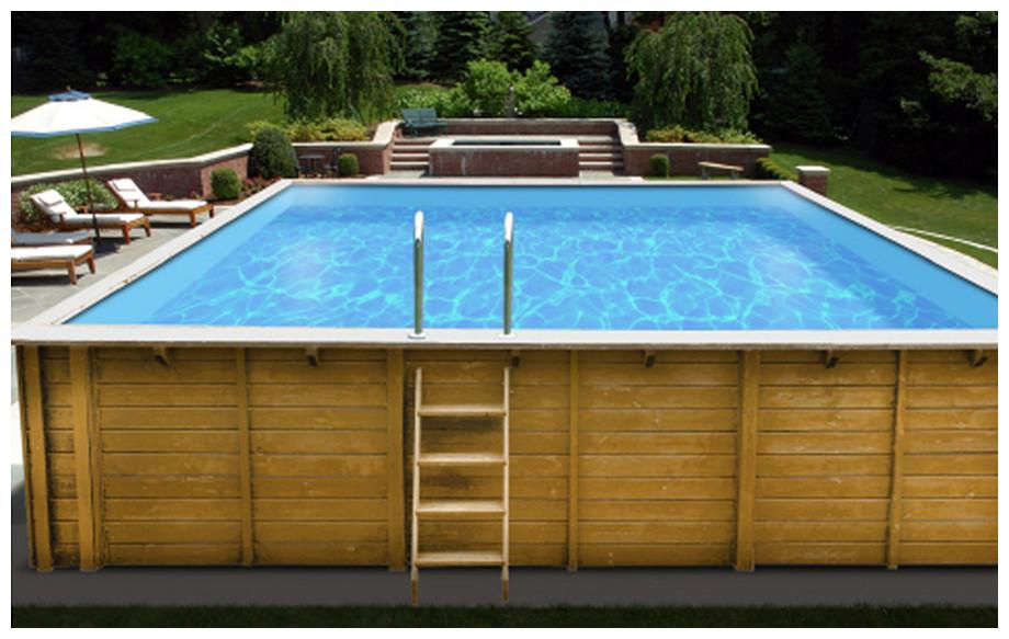 sunbay mint piscine bois en kit