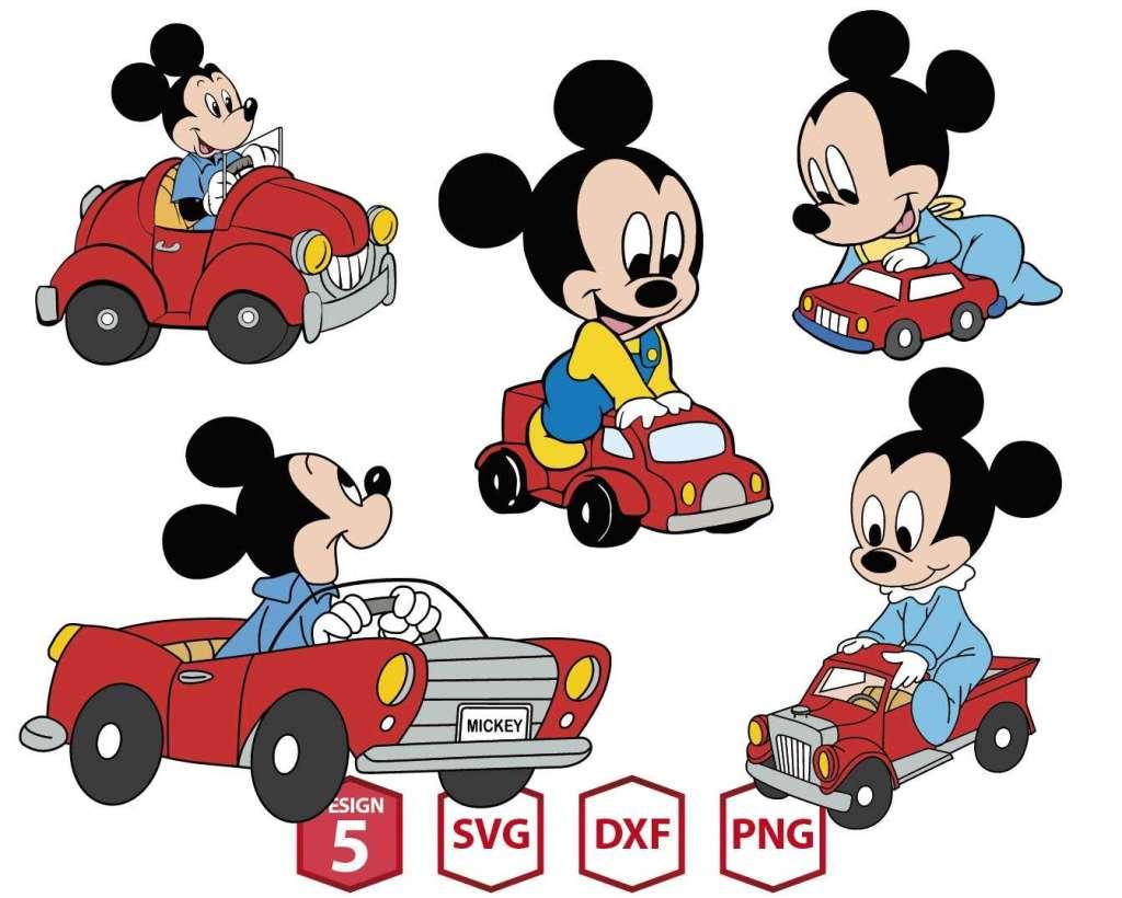Mickey Car Race MEGA-03