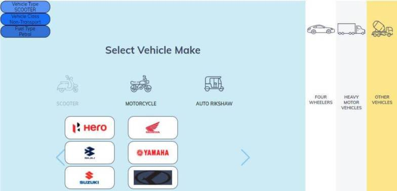 book on the vehicle what is high-security number plate select your vehicle company details