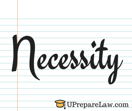 Necessity in law of torts with cases (General Defences in Torts Law)