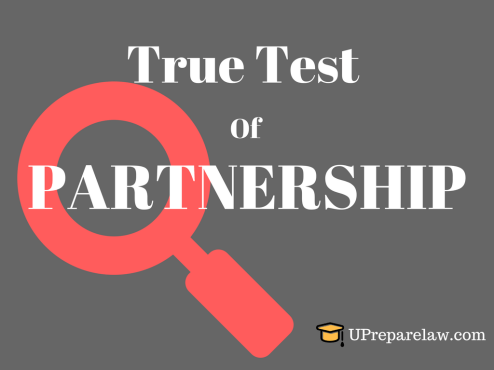 Mutual Agency as a True Test of PARTNERSHIP