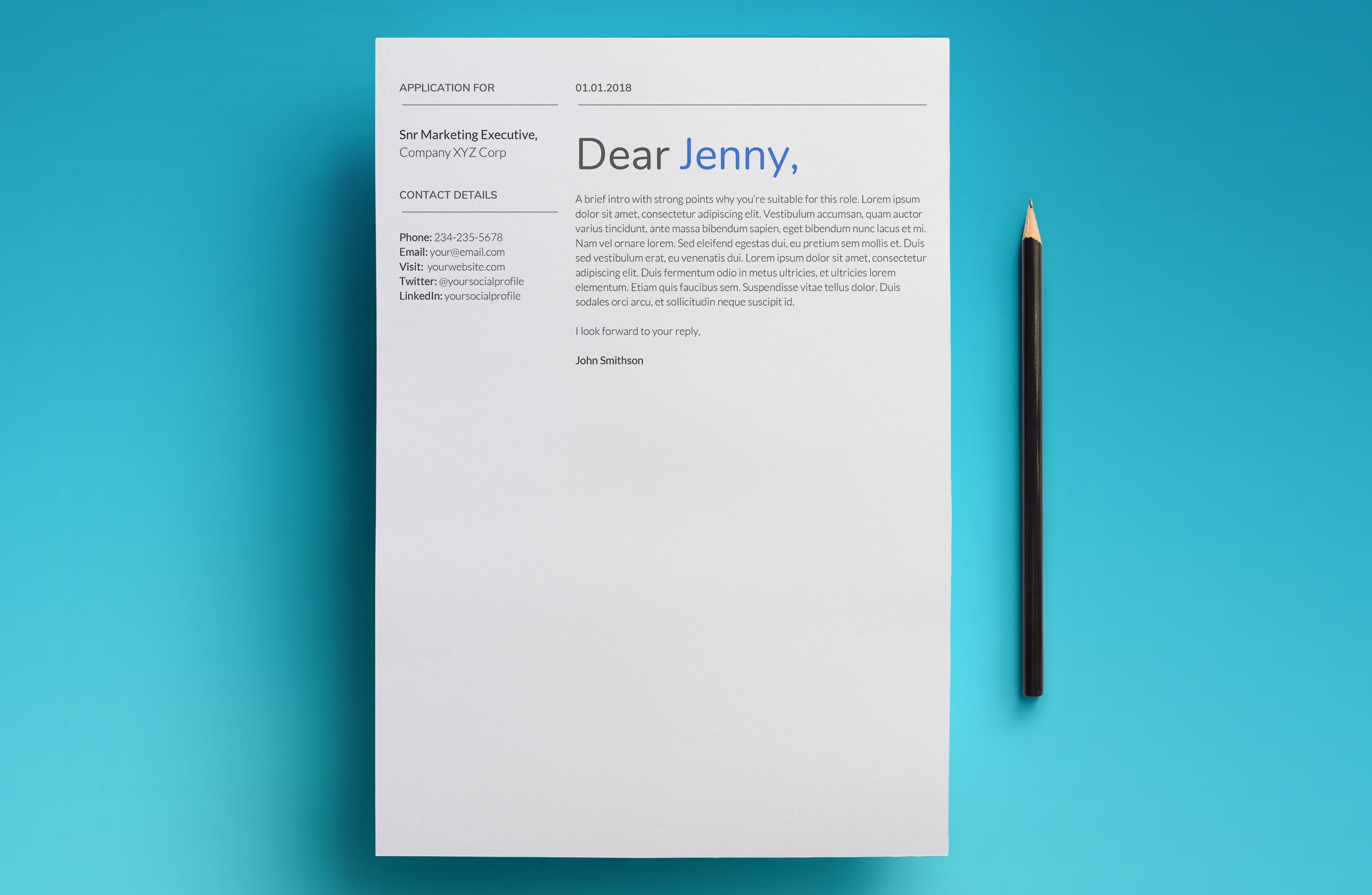 Promote Yourself With This Proven, Professional Resume Template For Google  Docs.