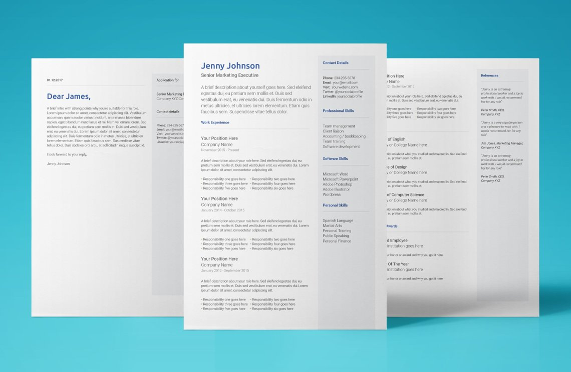 Stunning Free Resume Template That Will Help Secure Your Next Job