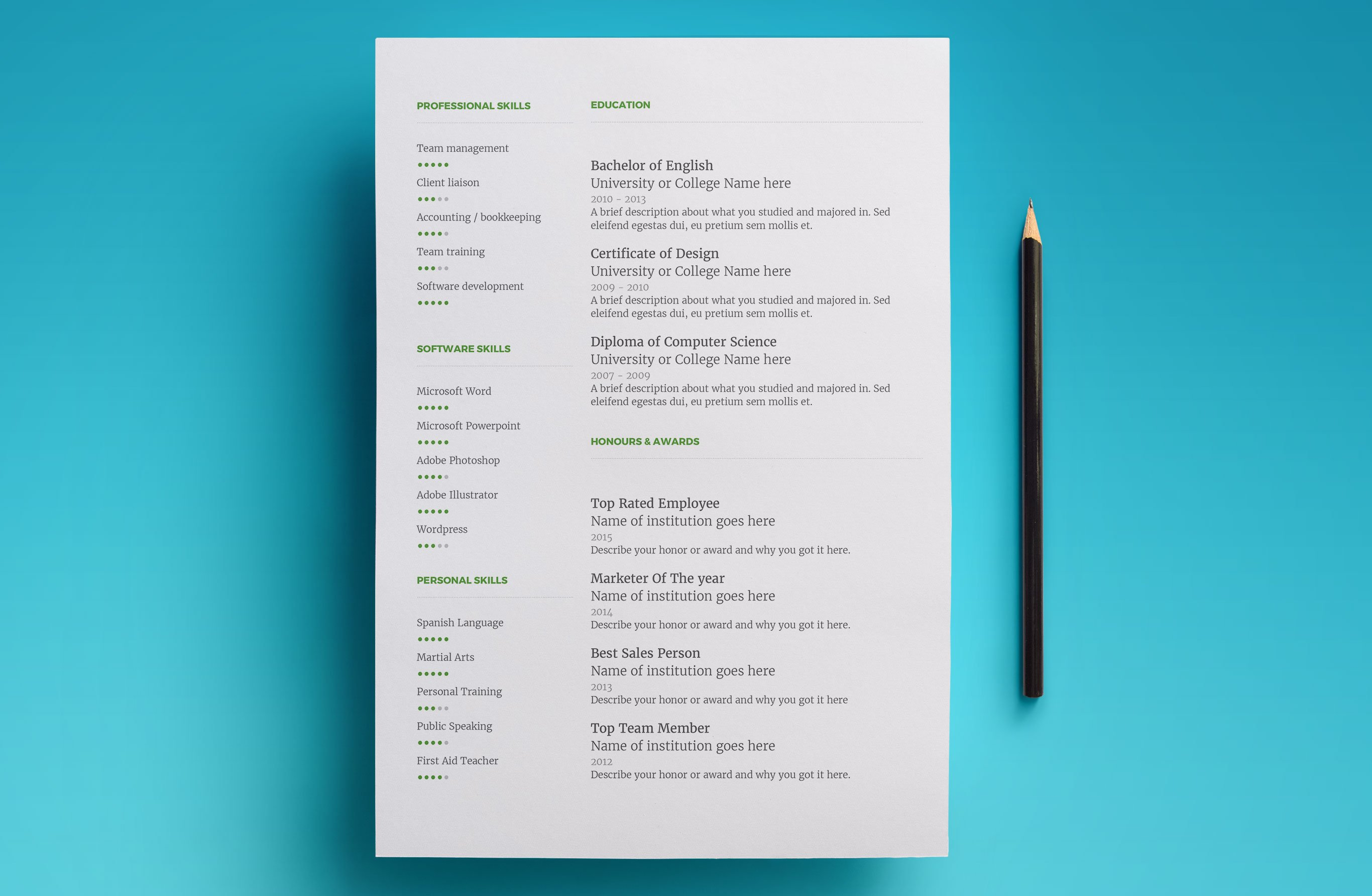 Science Resume Template Google Docs Templates
