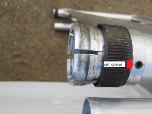Adjustable Leg Lock System, Aluminum Scaffolding