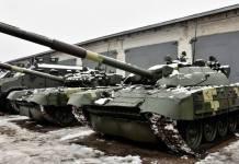 """Українські військові отримали модернізований танк Т-72К з динамічним захистом """"Ніж"""" (фото)"""