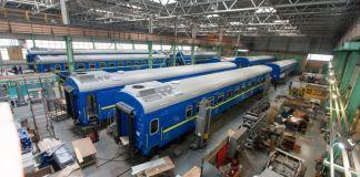 КВБЗ побудував 600-й пасажирський вагон