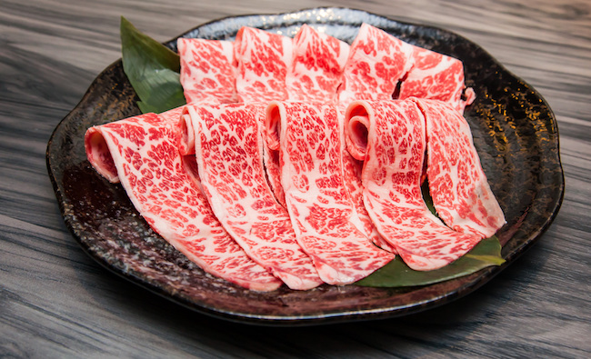 kobe beef is available