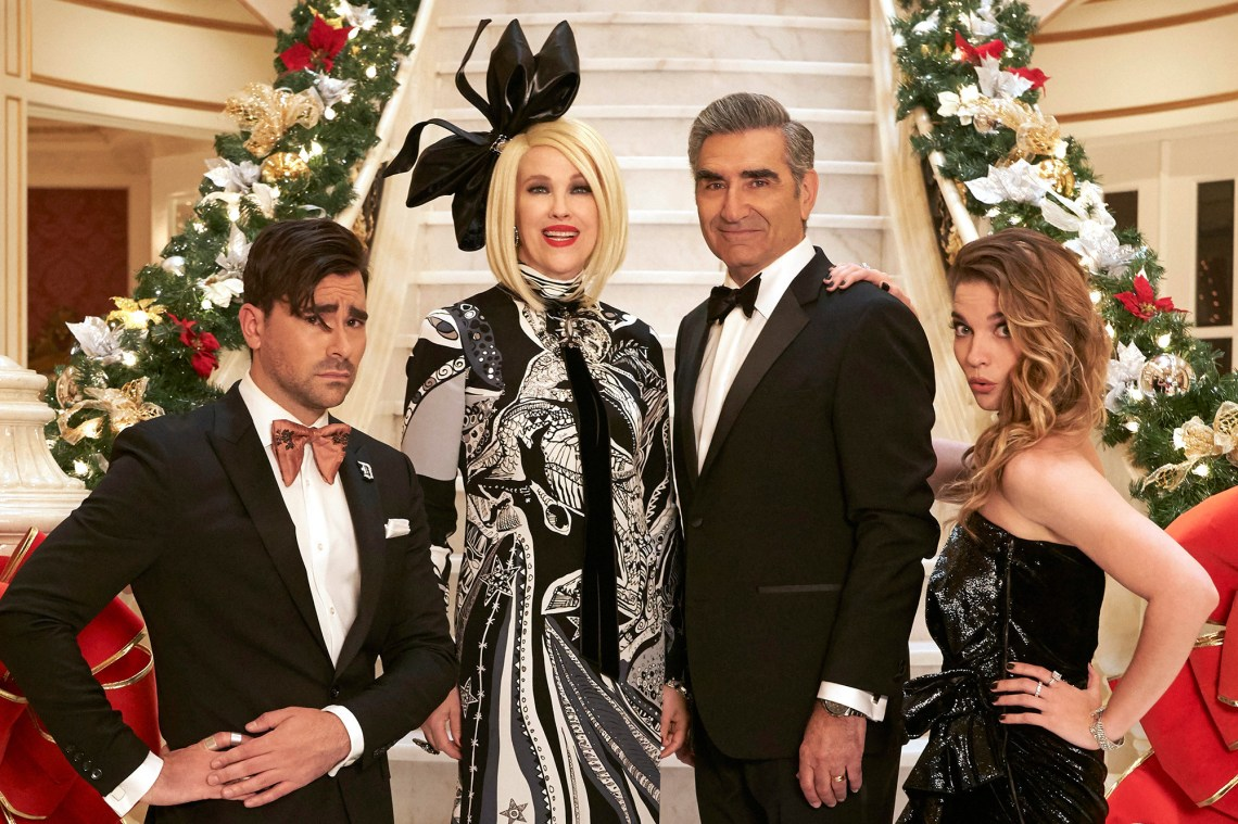 What's On Tonight: A 'Schitt's Creek' Holiday Special