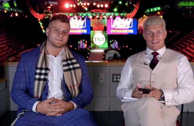 mjf and Cody