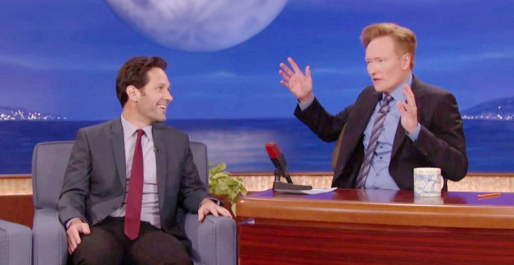Paul Rudd Reveals Other Movie For Mac And Me Prank On Conan