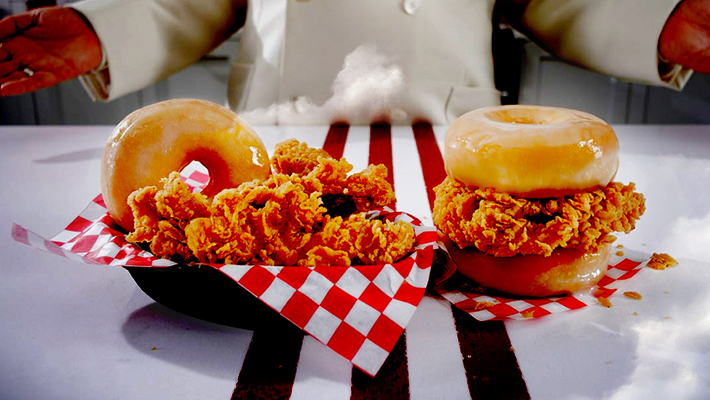 KFCs Chicken & Donut Sandwich Was A Brutal Fast Food Experience