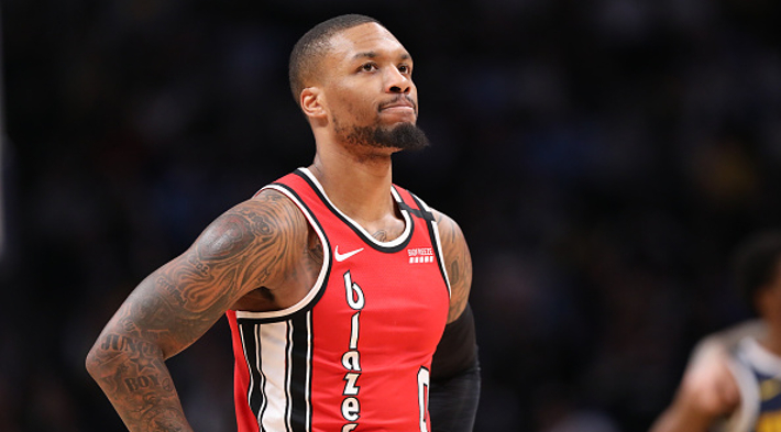 Damian Lillard Will Not Play In The All-Star Game After Suffering A Gr