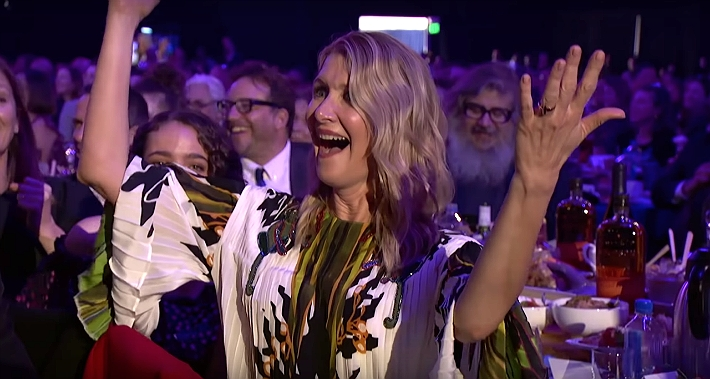 Laura Dern Loved The Spirit Awards Paying Tribute To Her Queerest Moments In Film