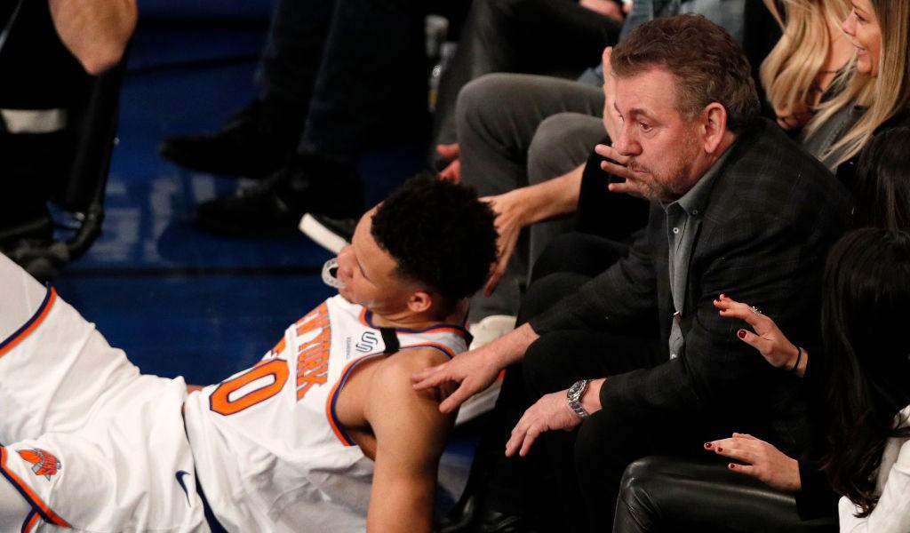 The Knicks Clarified That Marketing Guru Steve Stoute Wont Make Personnel Decisions