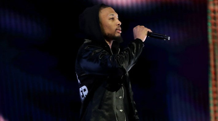 Damian Lillard Wore A Mamba Forever Jacket During His All-Star Performance