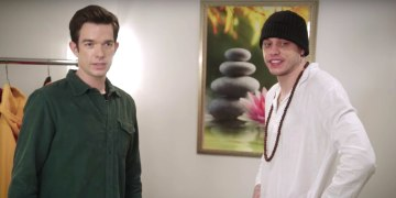 John Mulaney Advises Pete Davidson To Act Real Stupid In His SNL Promo