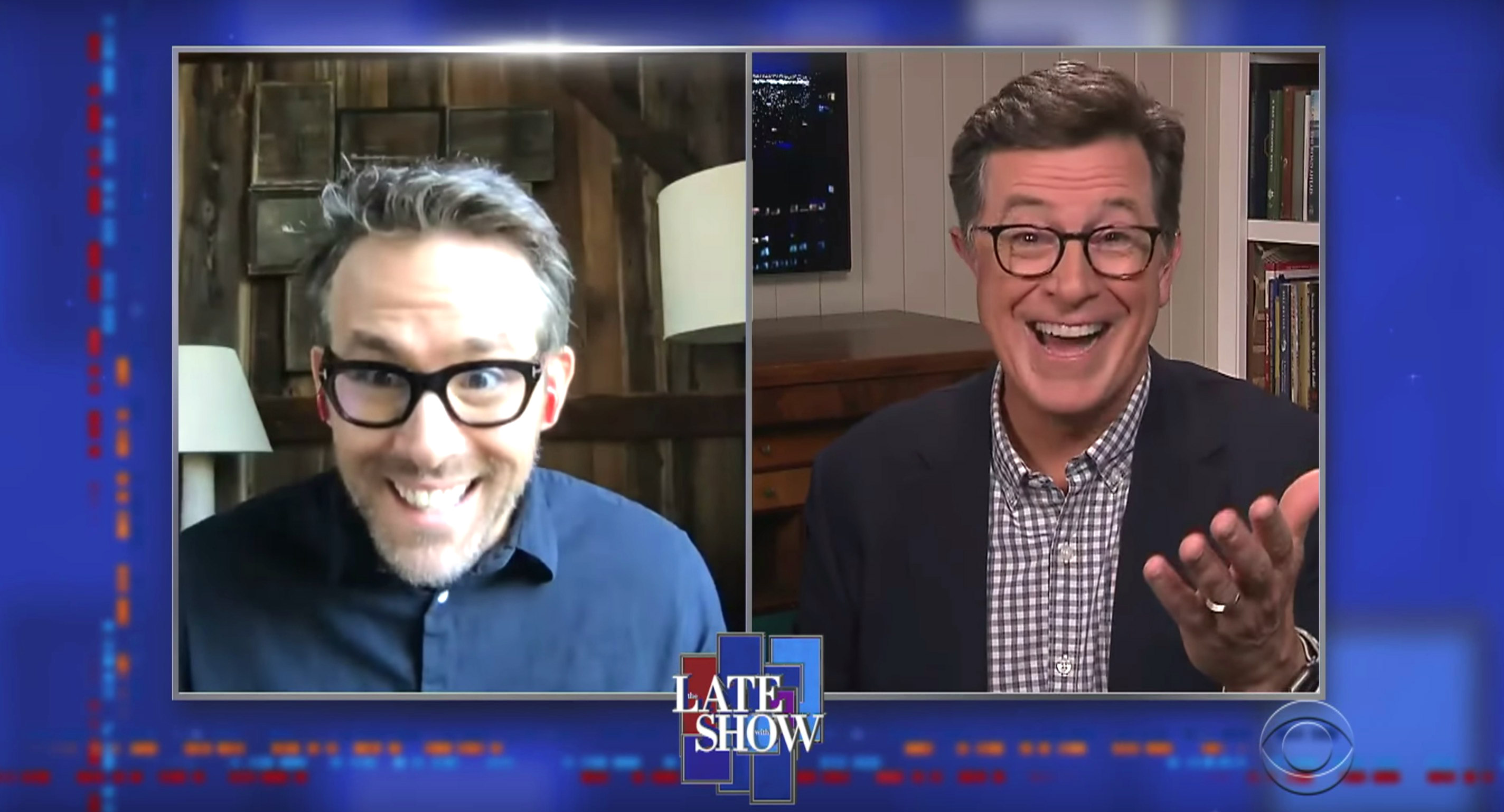 Ryan Reynolds Was Shocked To Learn Stephen Colbert Auditioned For Saved By The Bell
