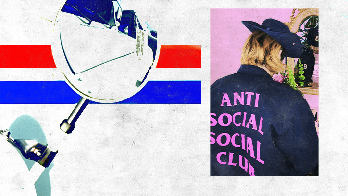 Anti Social Social Club Linked With The USPS For A Capsule Collection