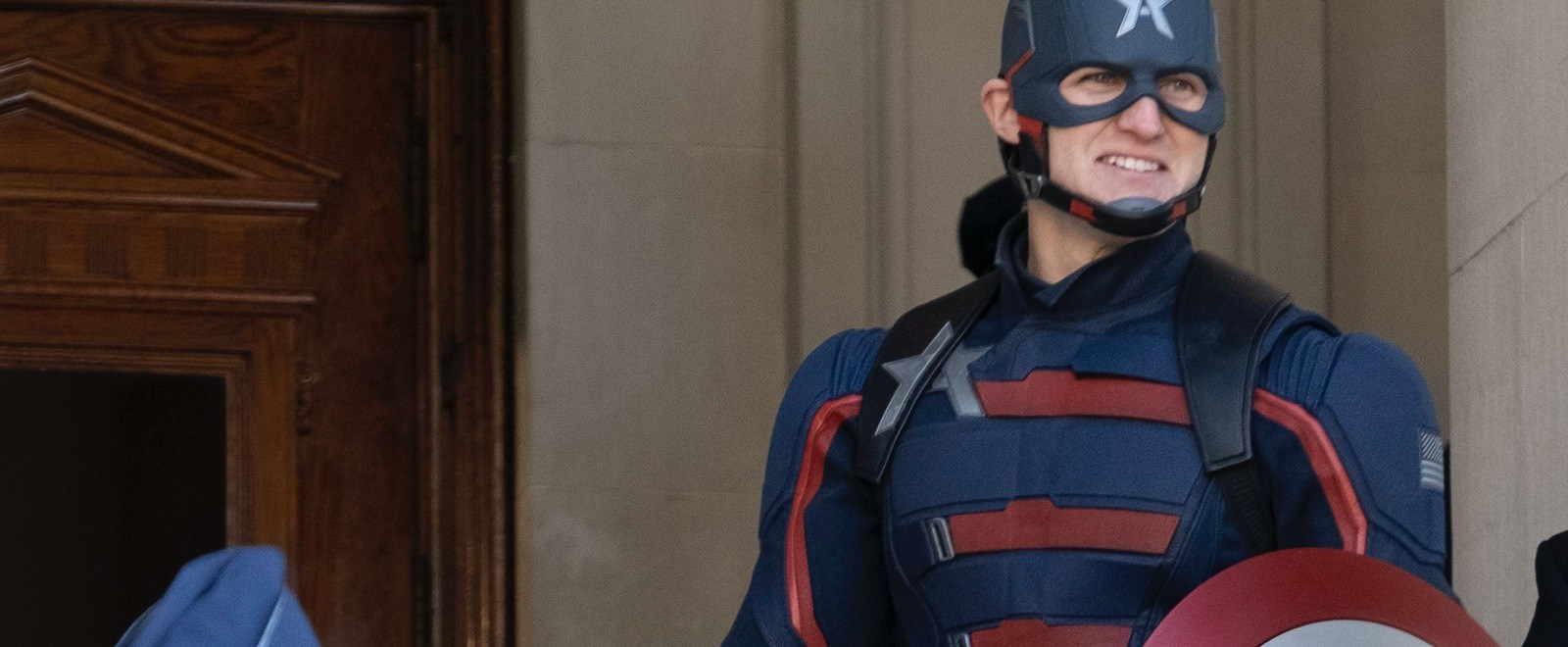 Yes. Wyatt Russell Saw Your Captain America Meme Comparing Him To 'Up'