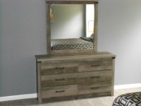 Upscale Gray Bedroom Set   Upscale Furniture