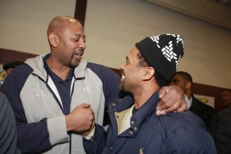 Mike Epps & Earl Crueton (Detroit Pistons)