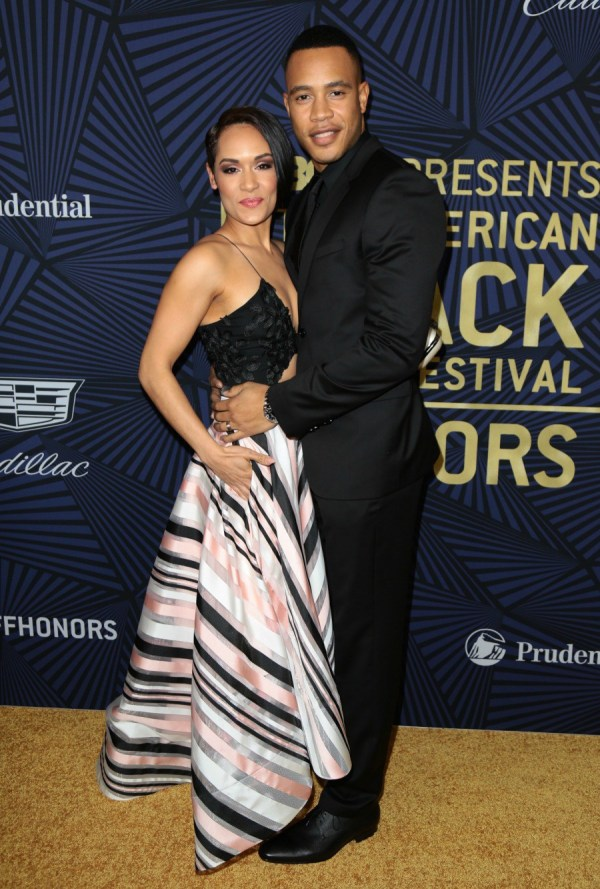 BET American Black Film Festival Awards held at the Beverly Hilton Hotel - Arrivals Featuring: Grace Gealey Where: Los Angeles, California, United States When: 17 Feb 2017 Credit: Guillermo Proano/WENN.com