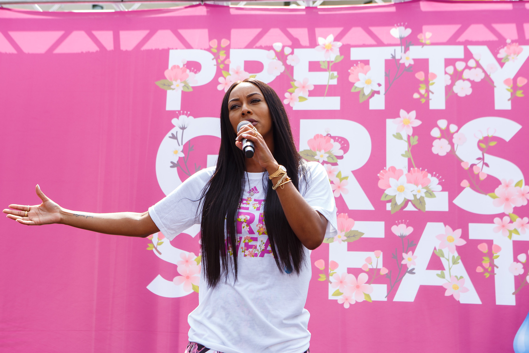 Keri Hilson, Rasheeda Frost Honored at the Inaugural PRETTY GIRLS SWEAT fest