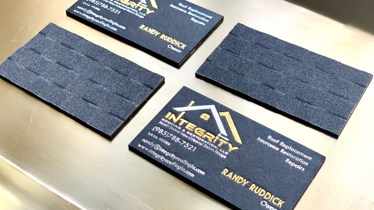 Roofing Company Business Cards