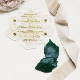 Acrylic Invitation Placement
