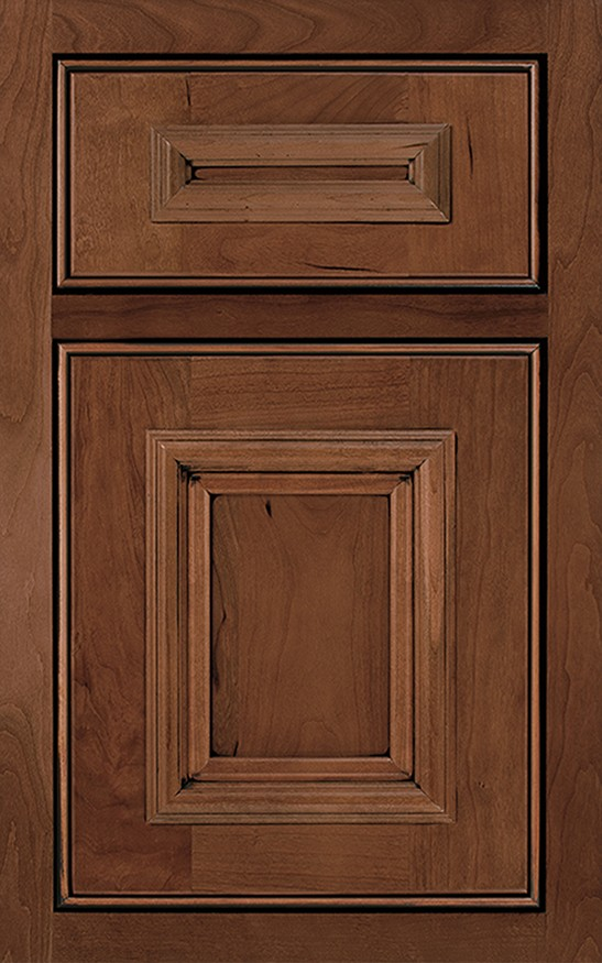 Charleston Inset Cherry - UPscape Countertops and Cabinets