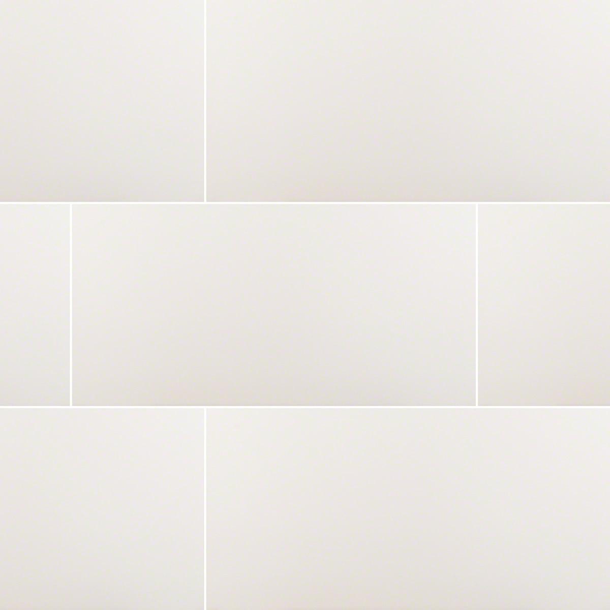 white 12x24 matte