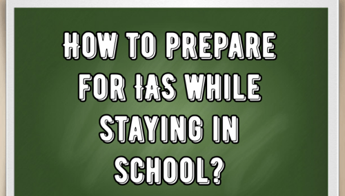 how to start preparation for ias after 12th