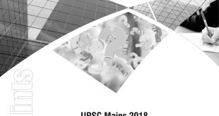 UPSC CSE Mains 2018 General Studies Paper 3 Solution