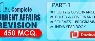 GS SCORE Current Affairs Revision 450 MCQ Part 1 PDF