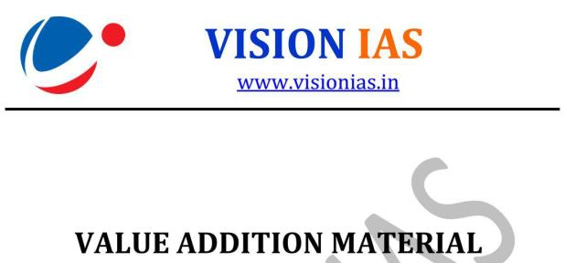 Vision IAS Value Added Material