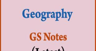 PMF IAS Geography Notes 2019 PDF