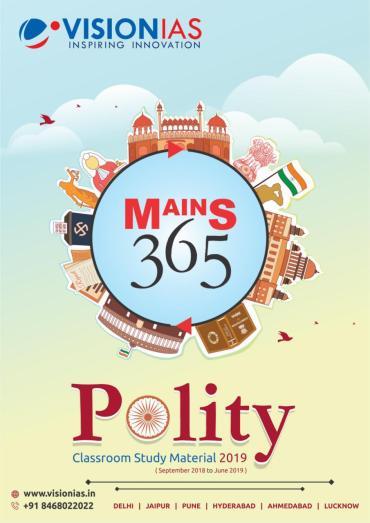 Vision IAS Mains 365 Polity 2019 PDF