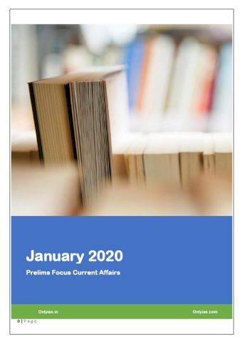 Only IAS January 2020 Current Affairs PDF