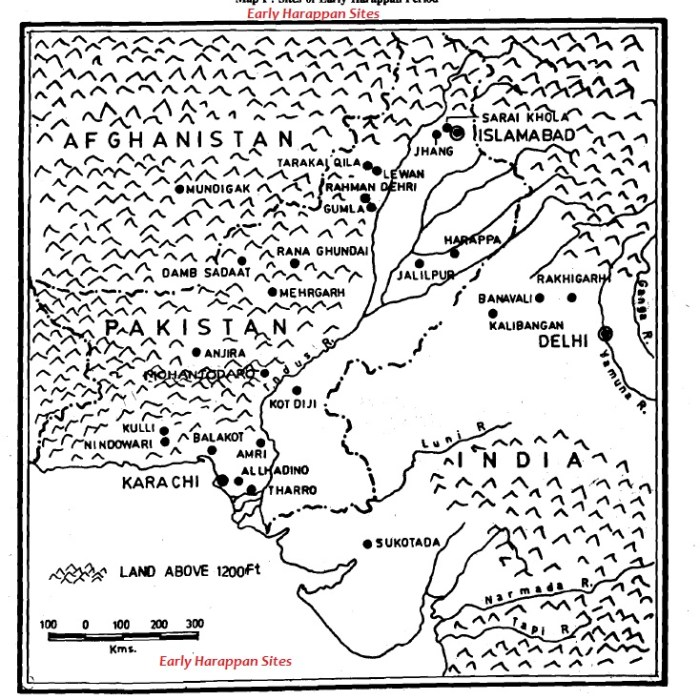 early harappa sites
