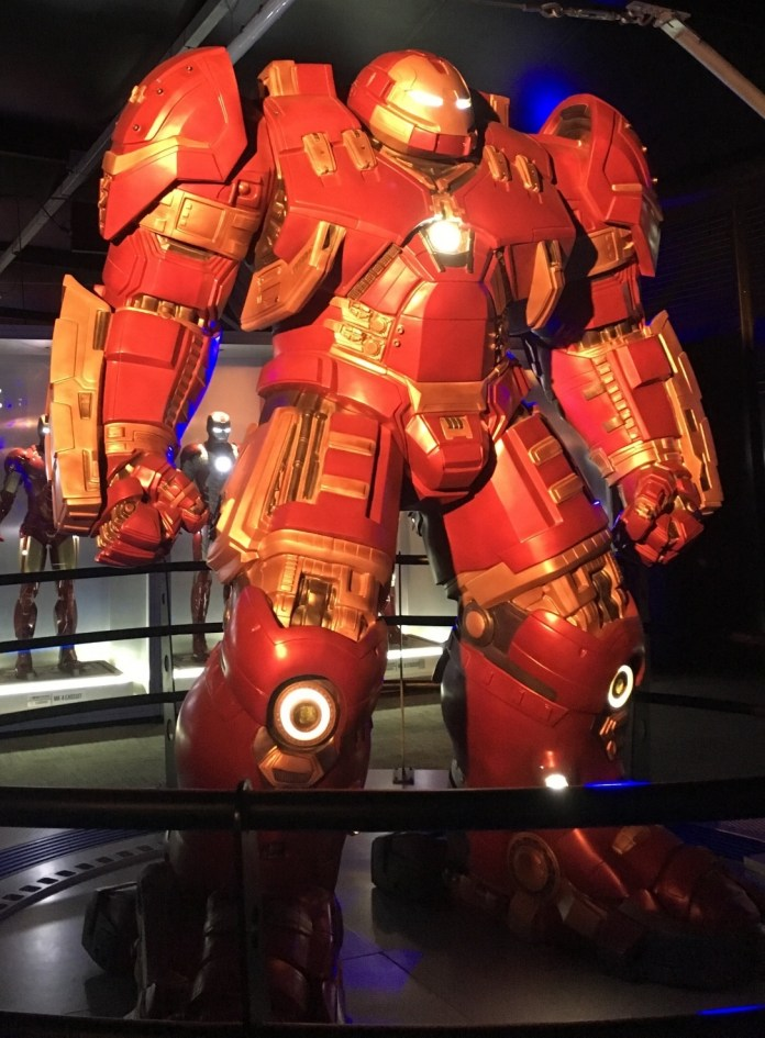 The Hulkbuster Armour. Photo Credit: Matt Dobbie