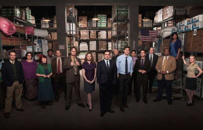 The cast of The Office for most of its history. Image via  Wired